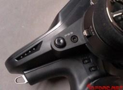 EL botón de activación/desactivación pasa a un plano lateral, accesible desde la mano derecha.