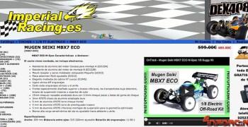 Mugen MBX7 Eco por 489€ en Imperial Racing