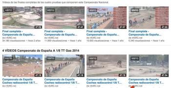 infoRC cubrirá por tercer año consecutivo el Nacional A 1/8 TT Gas