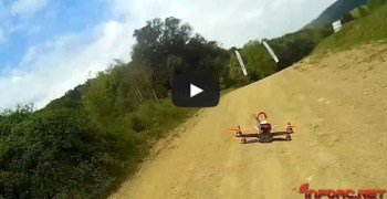 Video: Drones de carreras, una realidad cada vez más tangible en España