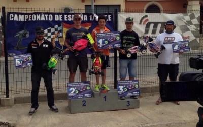 Juan Carlos Canas gana la 2ª del Nacional 1/8 TT-E en Lebrija