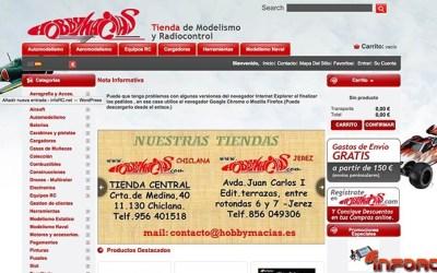 Hobby Macías, un año más en infoRC.net