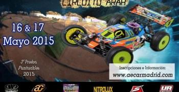 Este finde: Tercera prueba del Campeonato 1/8 TT Gas 2015 de Madrid