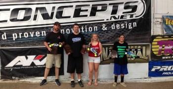 Gene Hickerson y su Intech consiguen TQ y victoria en el Roar Region 4