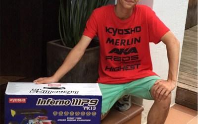 Alex Campillo, nuevo fichaje de Kyosho-Ibermodel