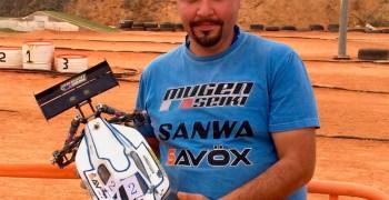 Jose Contreras, campeón de Castilla la Mancha 1/8 TT-E