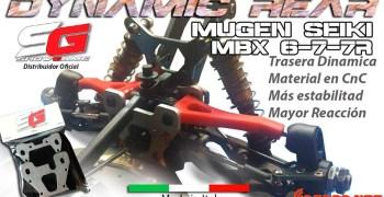 Showgame - tren trasero opcional para Mugen MBX6, 7 y 7R