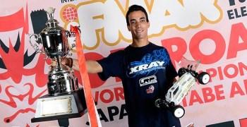 Bruno Coelho, nuevo campeón del mundo 1/10 4WD. ¡Enhorabuena! Videos.