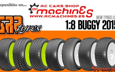 RC Machines - Gama GRP 2015 ya disponible
