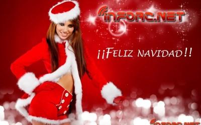 Feliz navidad a todos, de parte del equipo de infoRC.net