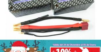 SLS Lipos - Descuento navideño y nuevas shorty y saddle pack