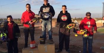 Crónica - Tercera prueba del Campeonato del Levante 1/8 TT Gas 2015. Por Juan Guillermo Carrasco.
