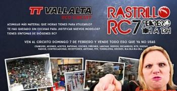7 de Febrero - Primer rastrillo RC en TTVallalta