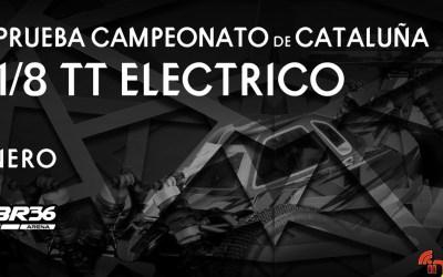RBR36 Arena celebra este finde su primera prueba oficial. Campeonato de Cataluña 1/8 TT Eco
