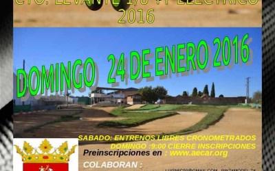 Primera prueba del Campeonato del Levante 1/8 TT Eco