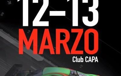 12 y 13 de Marzo - SNS Round 1 en Club CAPA
