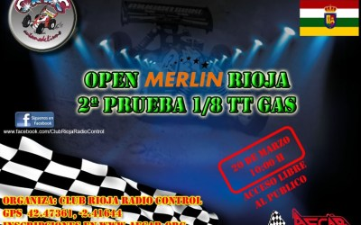 Este Domingo - Segunda prueba del Open Merlin La Rioja 1/8 TT Gas 2016