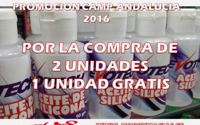 Hobbymacías - Oferta en siliconas Evotech para el Campeonato de Andalucía de este finde