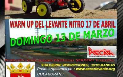 Este Domingo - Quinta prueba del Campeonato provincial de Castellón 1/8 TT Gas y Eco