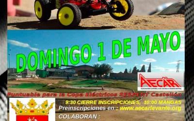 1 de Mayo - Sexta prueba del Campeonato provincial de Castellón 1/8 TT Gas