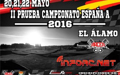 Campeonato de España 1/8 TT Gas 2016 - Solo falta un mes para la segunda prueba