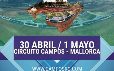 30 de Abril y 1 de Mayo - Tercera prueba del Nacional 1/8 Eco en Campos, Mallorca