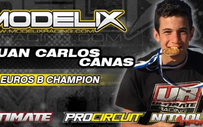 Modelix Racing - Juan Carlos Canas, campeón de Europa B 1/8 TT Gas 2016