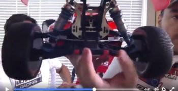 Video en directo - Entrevista a Edu Ameijide y Mike Craddock, mecánico de Elliot Boots