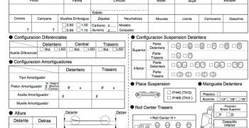 Hoja de reglajes editable en Español Kyosho MP9 TKI4 - Descargas