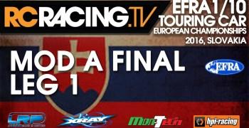 Resultados Campeonato de Europa 1/10 Pista en el Hudy Arena, Eslovaquia. Videos Final A.