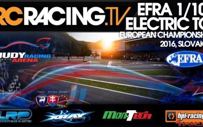 Video en directo - Campeonato de Europa Pista 1/10 Eco. Día 2