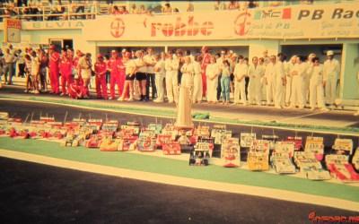 Galería de fotos historia del RC - Cuarto Campeonato del Mundo pista, 1983