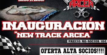 9 de Octubre - Inauguración nuevo trazado Club ARCEA. Oferta nuevos socios.