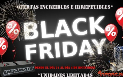 Black Friday en Kana RC - Juan Carlos Canas se suma al Black Friday