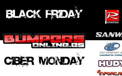 Black Friday en Bumpers Online - Descuentos en Sanwa, Novarossi...