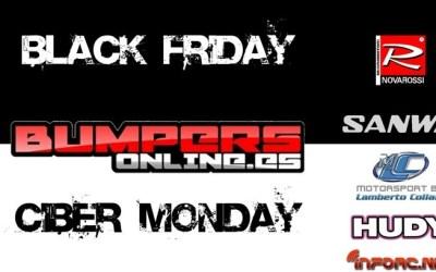 Black Friday en Bumpers Online - Descuentos en Sanwa, Novarossi...