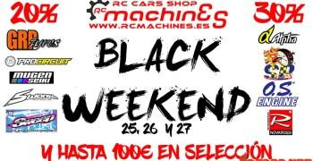Black Friday en RC Machines - Descuentos de 20%, 30% y hasta 100€