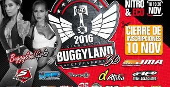 Buggyland 3.0 - Cierre de inscripciones ¡No te quedes fuera!