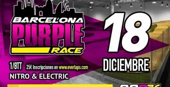 18 de Diciembre - Barcelona Purple Race en RBR36 Arena, 1/8 TT Nitro y Eco