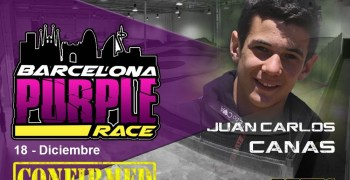 Barcelona Purple – Confirmado Canas para el 18/12 en RBR Arena