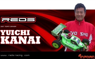 Yuichi Kanai continúa con REDS Racing