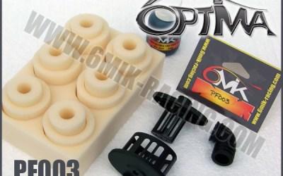 Filtros de aire y aceite para filtros Optima de 6Mik