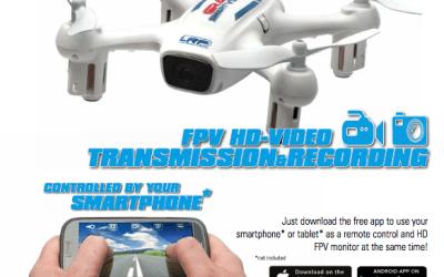 LRP - Nuevo Gravit Smart Vision FPV, dron para vuelo en primera persona. Retransmite video y graba desde tu movil.