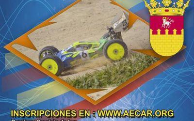 11 y 12 de Febrero - Segunda prueba Campeonato Levante 1/8 TT Electrico