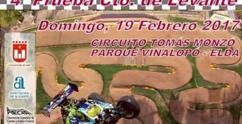 19 de Febrero - Cuarta prueba Campeonato del Levante 1/8 TT Gas