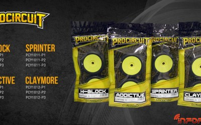 Procircuit anuncia nuevas ruedas, compuestos y packaging