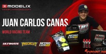 Juan Carlos Canas renueva con las marcas Modelix Racing en 2017