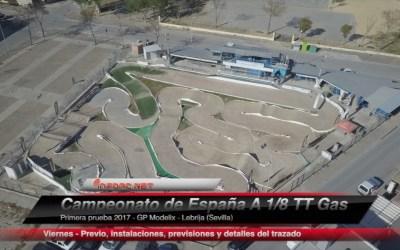 Video - Previo a la primera prueba del Campeonato Nacional 1/8 TT Gas. Análisis del trazado.