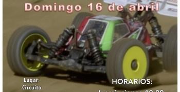 16 de Abril - Primera prueba Campeonato Navarra 1/8 TT Eléctrico