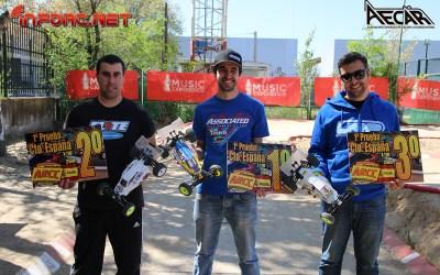 Carlos Pineda, campeón de la primera prueba del Nacional 1/10 2WD en Coslada